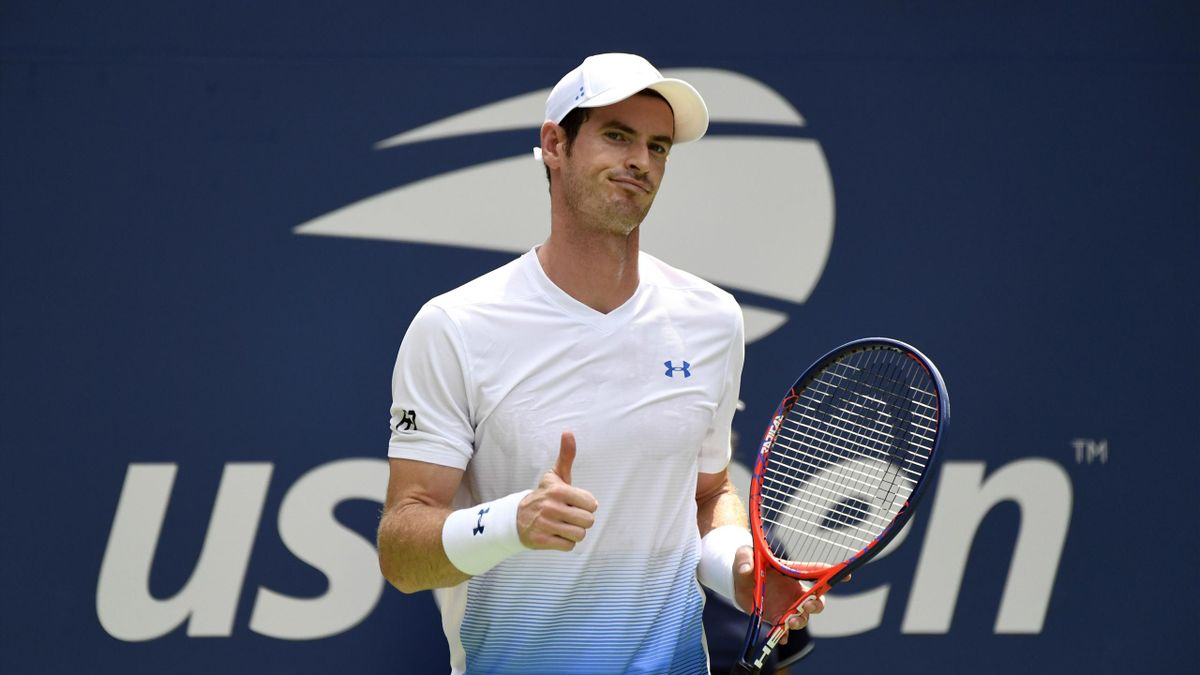 Thumbs up from Andy Murray