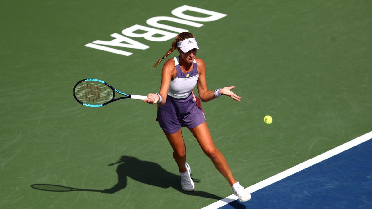 Kristina Mladenovic à Dubaï en 2020