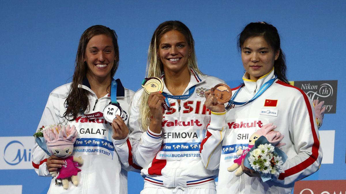 Yulia Efimova takes gold at the FINA world championships