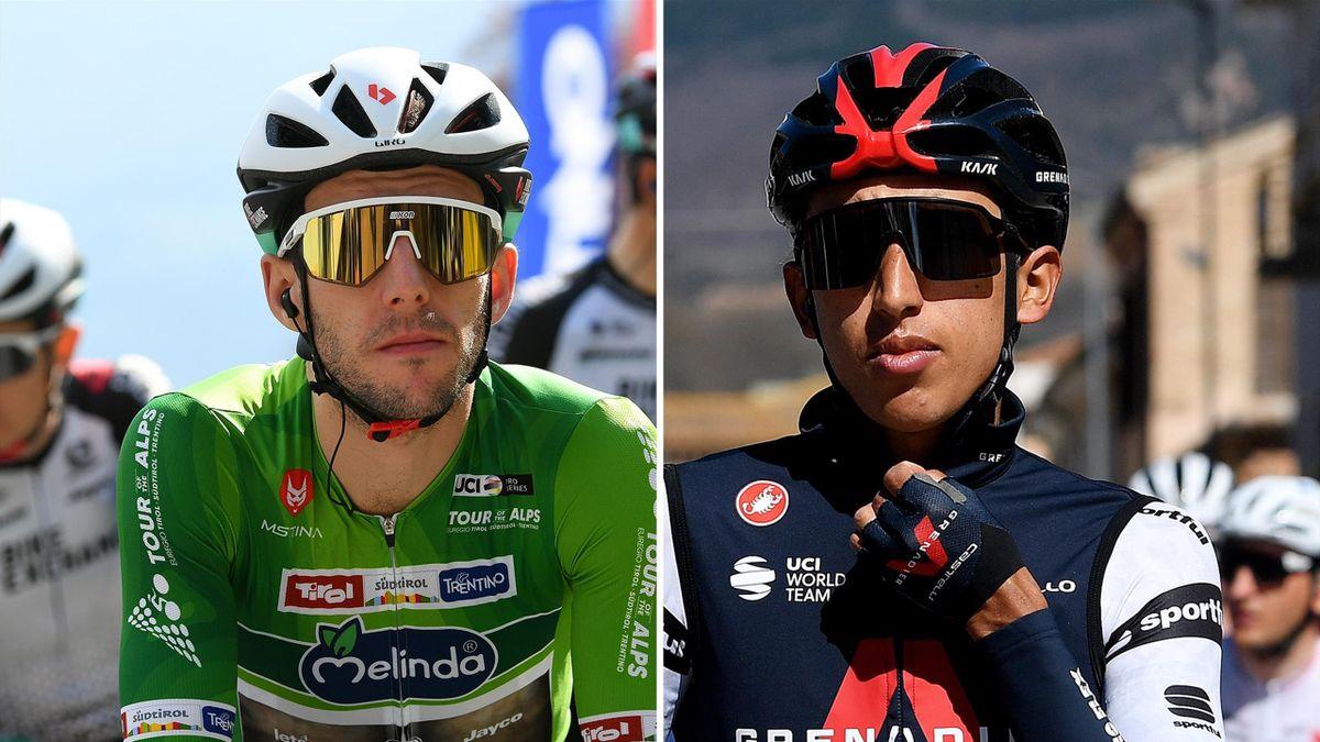 Simon Yates and Egan Bernal are among the favourites for the Giro d'Italia