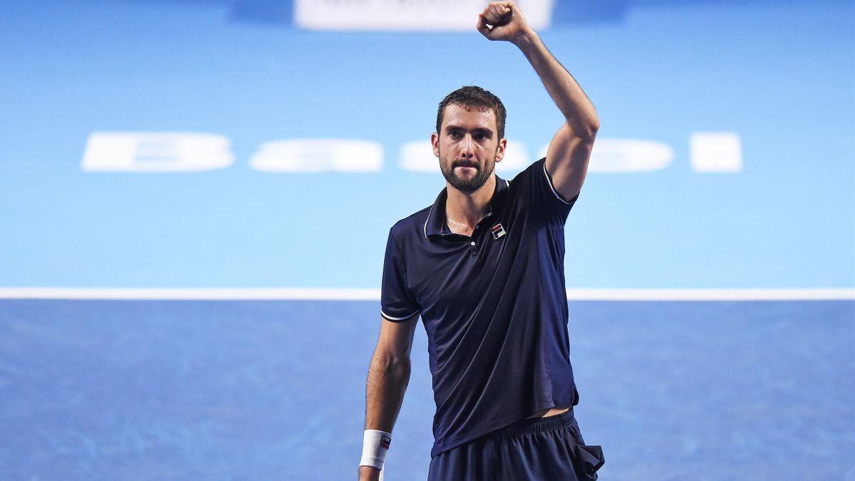 Marin Cilic, vainqueur du tournoi de Bâle