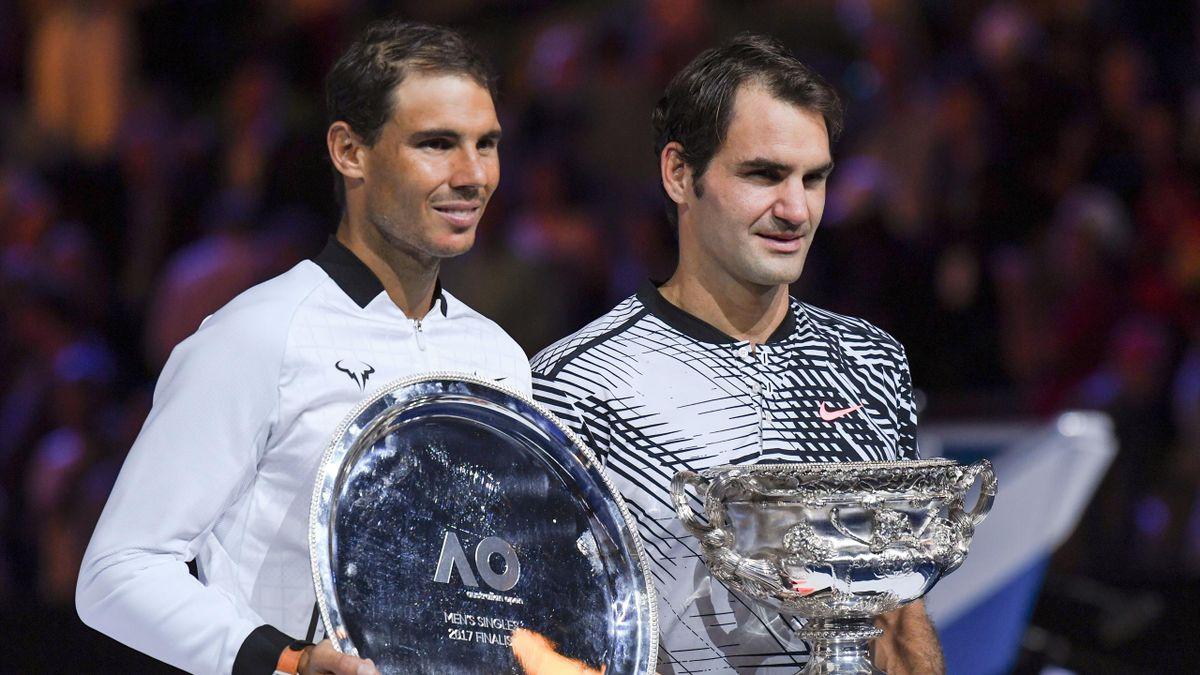 Roger Federer et Rafa Nadal
