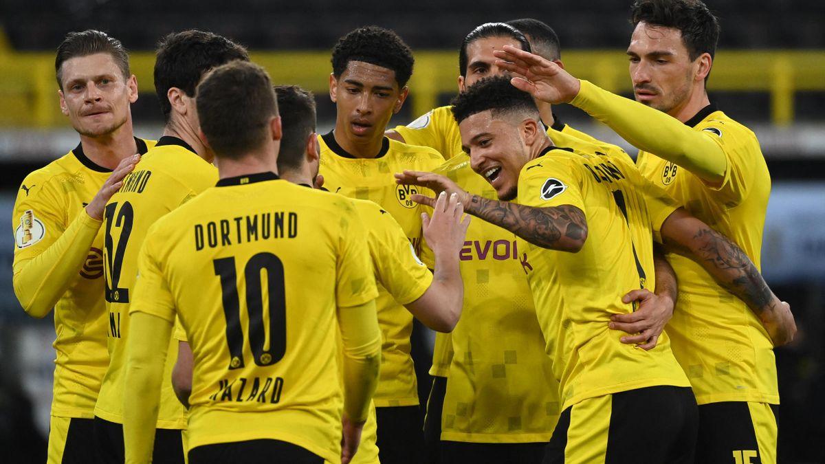 A Borussia Dortmund a Holstein Kiel elleni meccsen