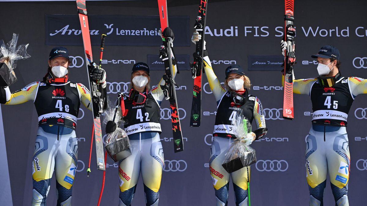 La Norvegia vince il team event di Lenzerheide