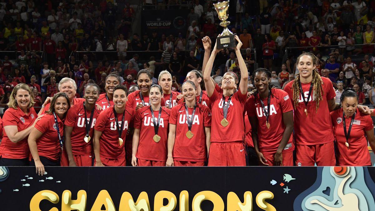 Les Américaines sacrées championnes du monde, 2018