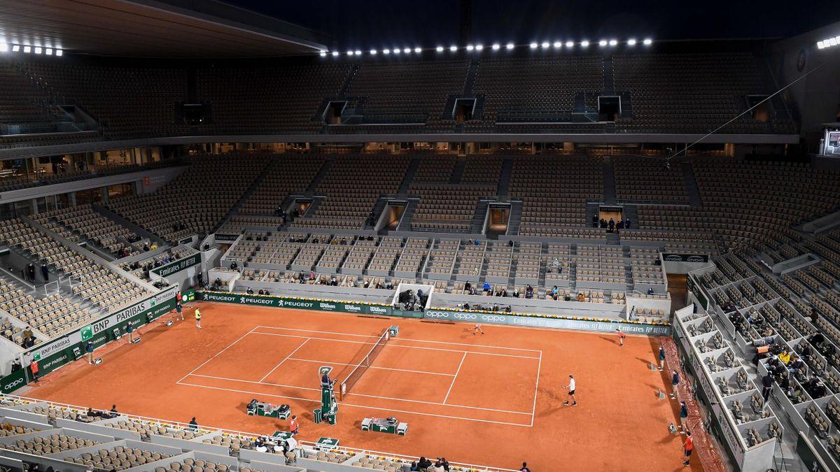 Roland-Garros de nuit - court central