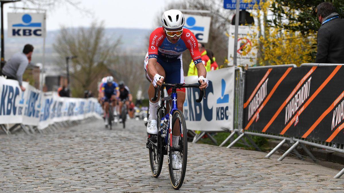 Anthony Turgis (Total Direct Energie) sur le Tour des Flandres 2021