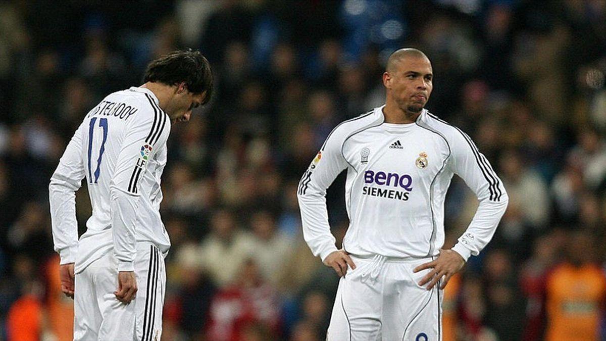 Van Nistelrooy și Ronaldo, la Real Madrid