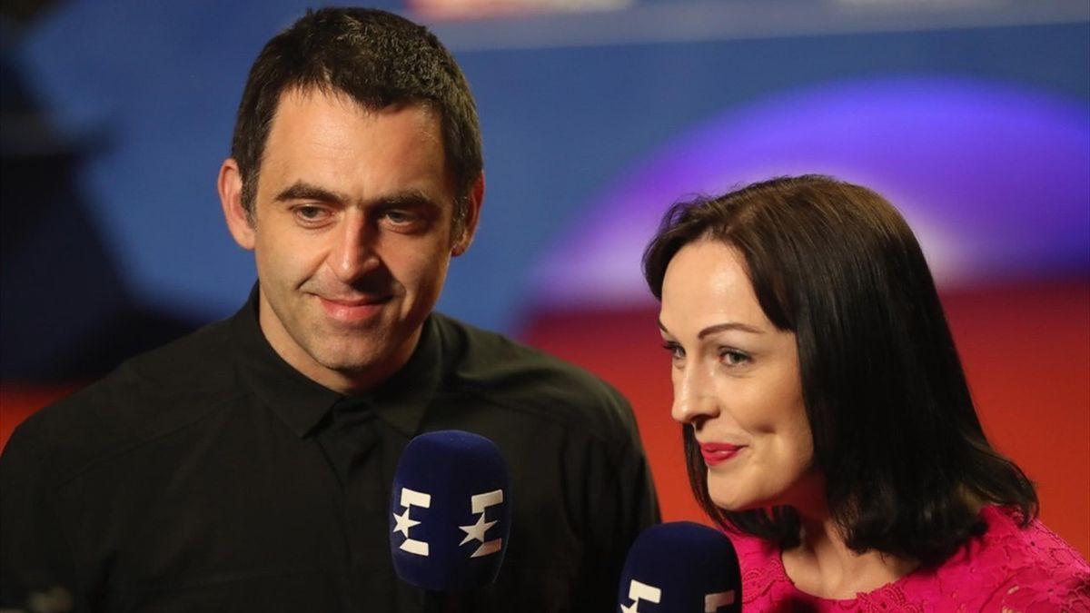Ronnie O'Sullivan and Rachel Casey