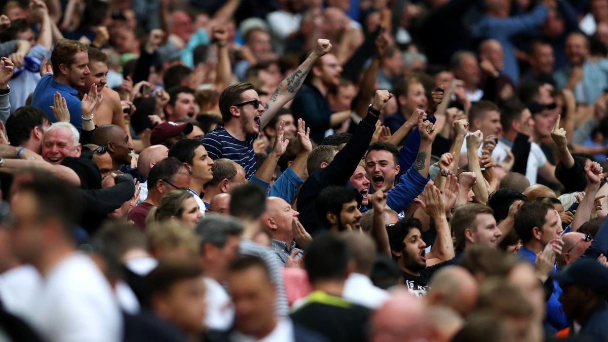 Tottenham, Chelsea fans
