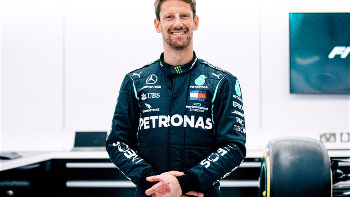 Romain Grosjean testet für Mercedes in Le Castellet