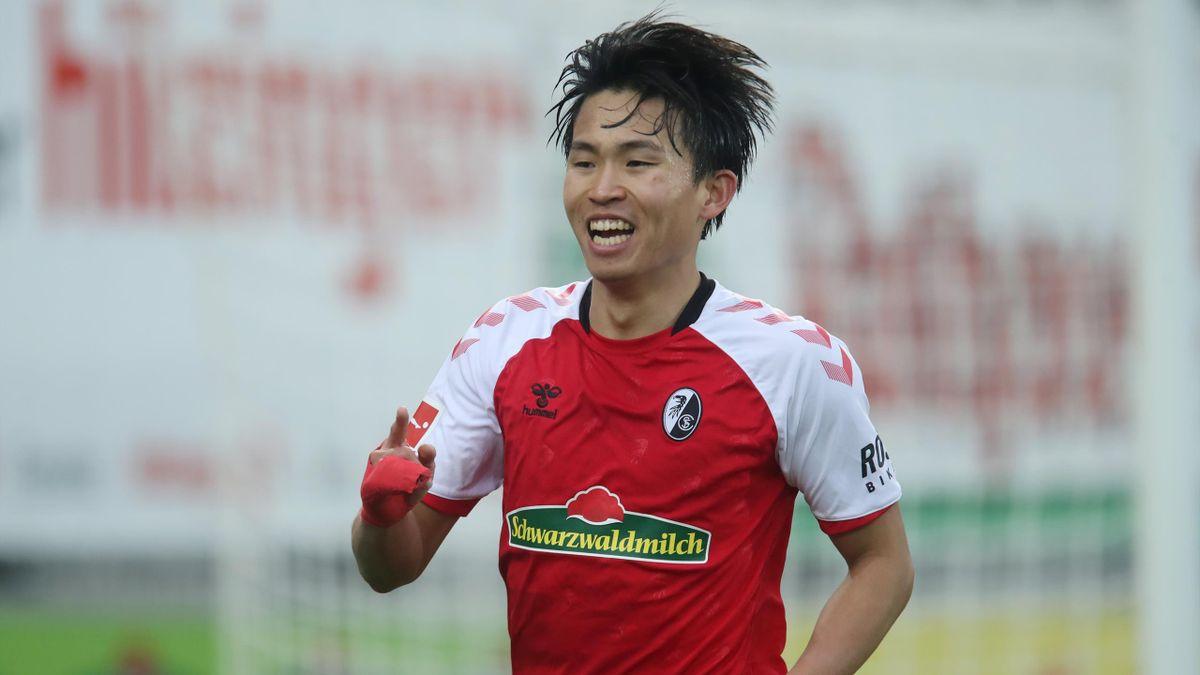 Woo-yeong Jeong schießt den SC Freiburg zum Sieg