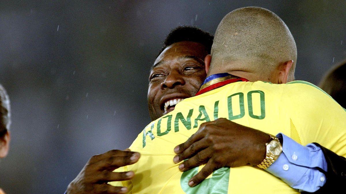 Роналдо и Пеле, финал ЧМ-2002