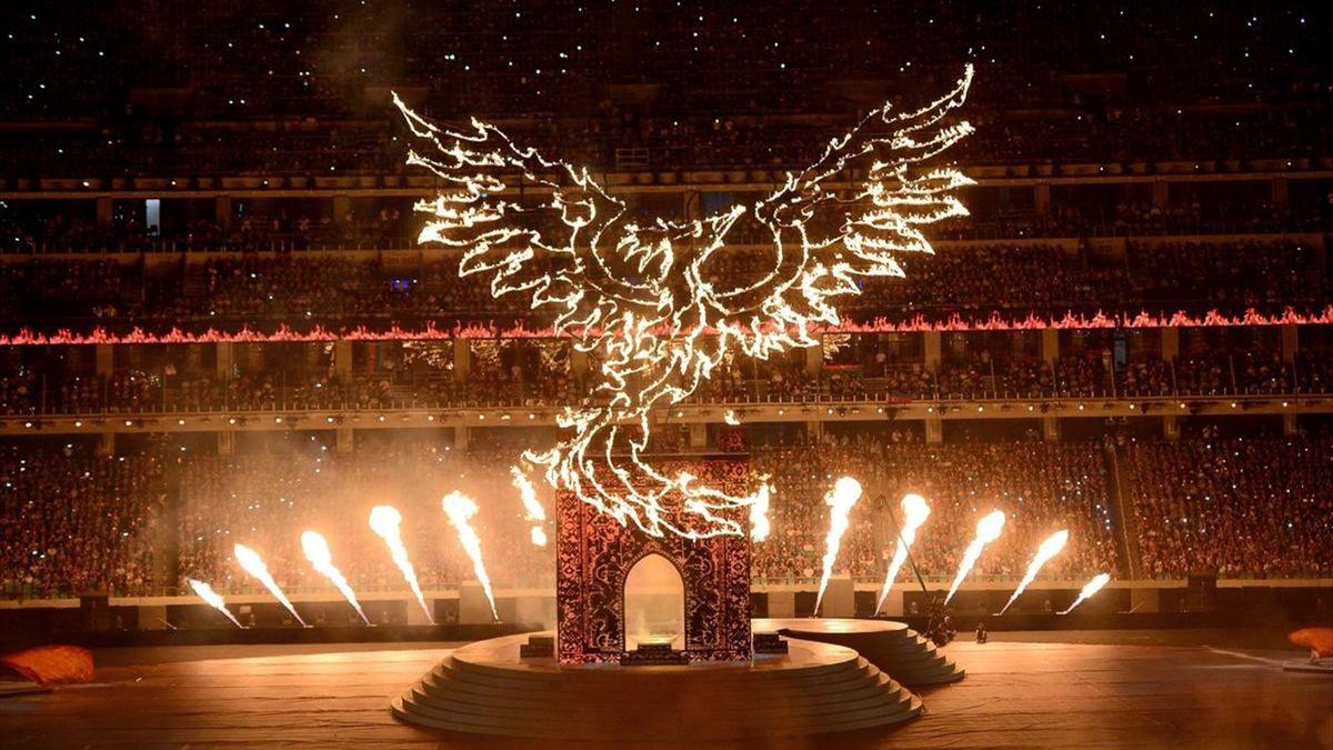 Avrupa Oyunları Kapanış Töreni