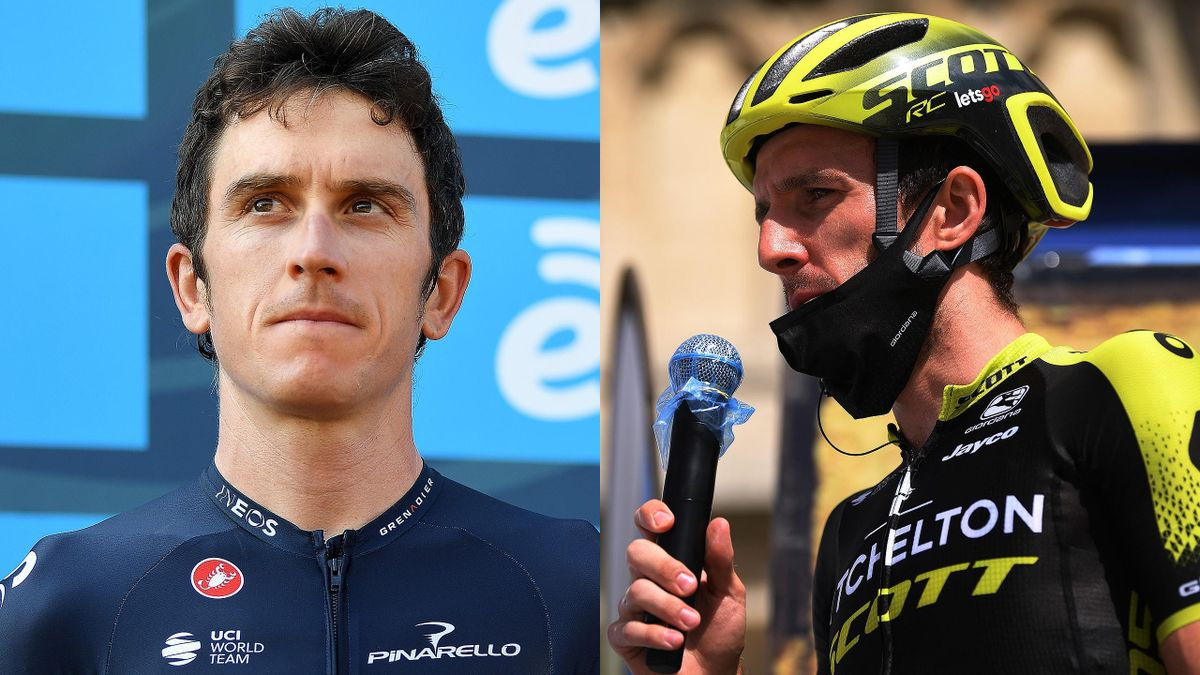 Geraint Thomas and Simon Yates are contesting the 2020 Giro