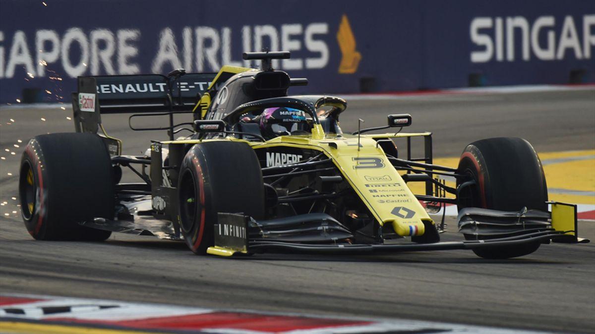 Ricciardo wurde disqualifiziert