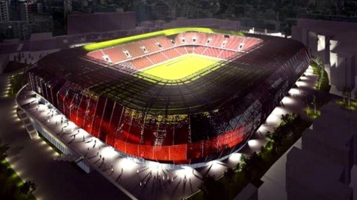 Dinamo - stadio nou