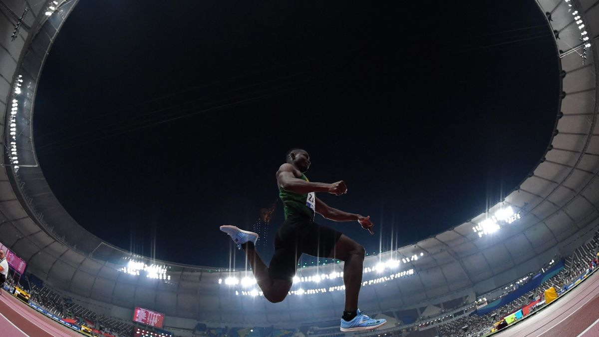 Zango, nouveau recordman du triple saut en salle