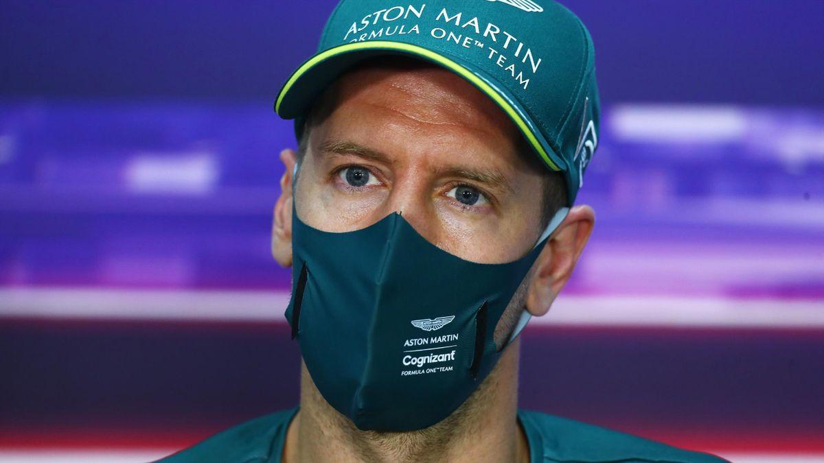 Sebastian Vettel muss in Bahrain von ganz hinten starten