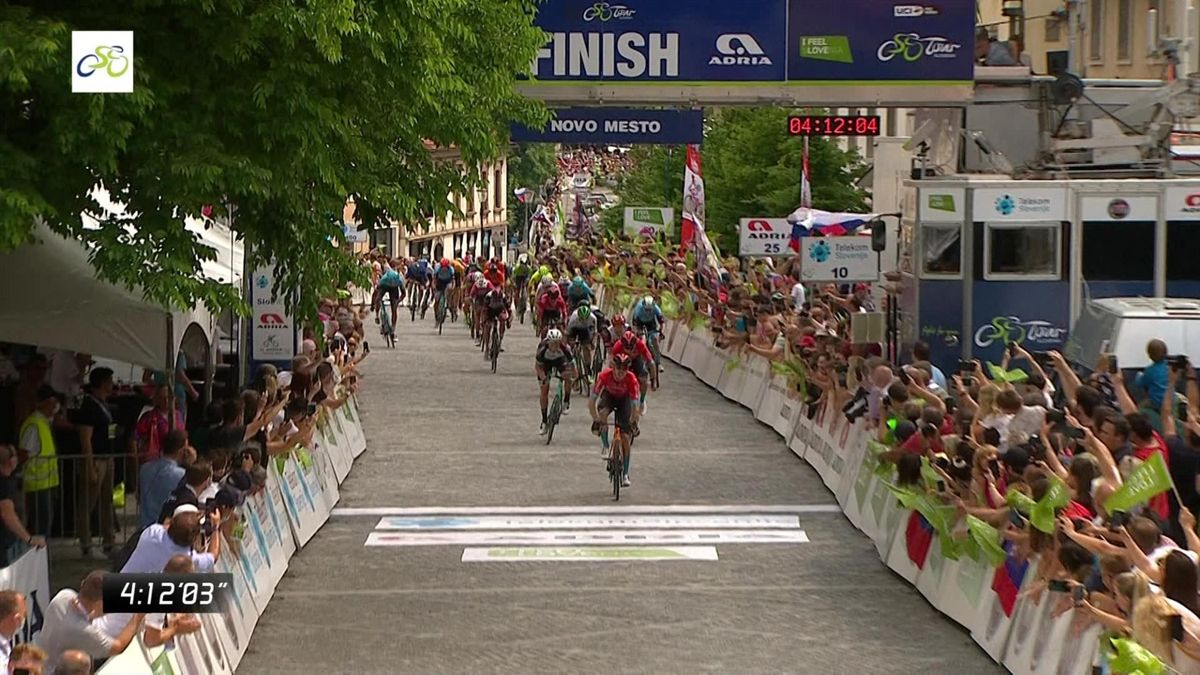Bauhaus sprints to stage 5 victory at Tour of Slovenia