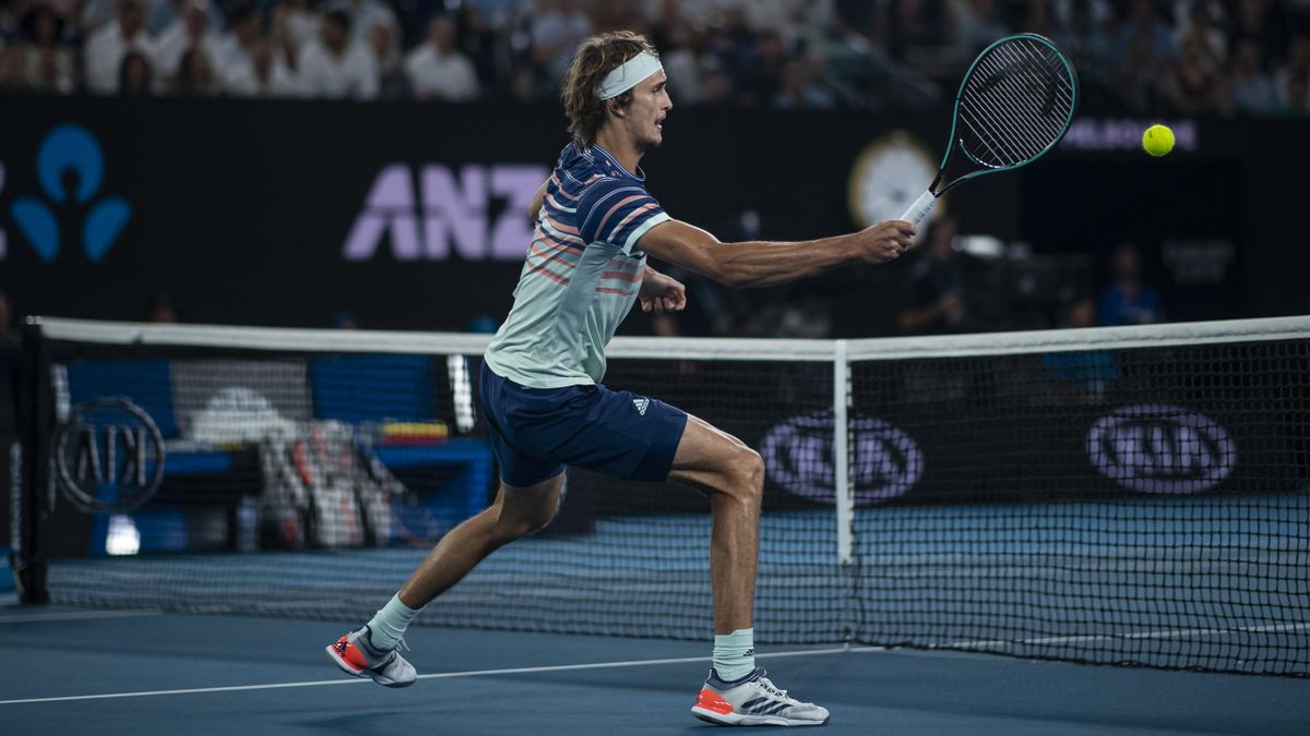 Alexander Zverev bei den Australian Open 2020