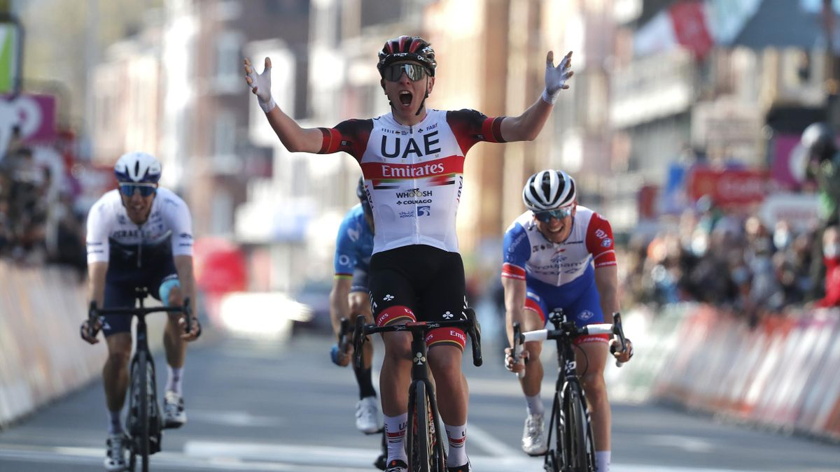 Highlights: Pogacar claims Liege-Bastogne-Liege ahead of Alaphilippe
