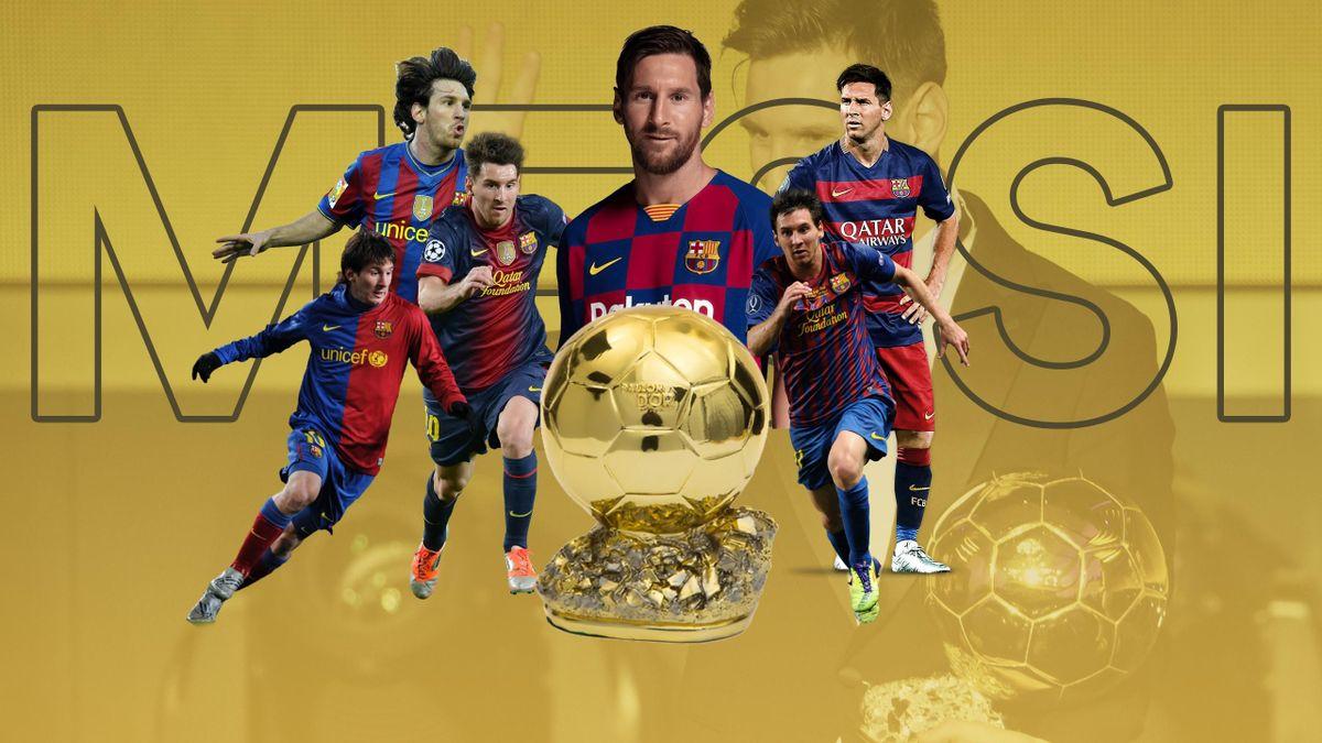 Leo Messi, 6 Ballon d'or