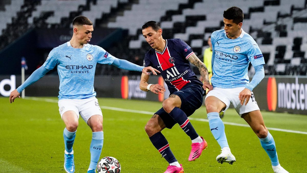 Angel Di Maria (PSG) face à Manchester City