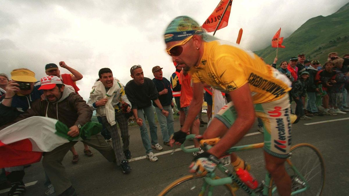 Marco Pantani al Tour de France del 1998