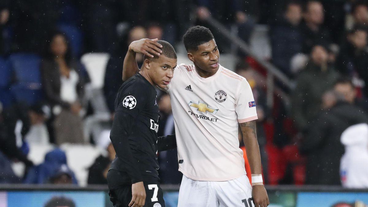 Psg Make Manchester United Star Marcus Rashford Their Top Target Paper Round Eurosport