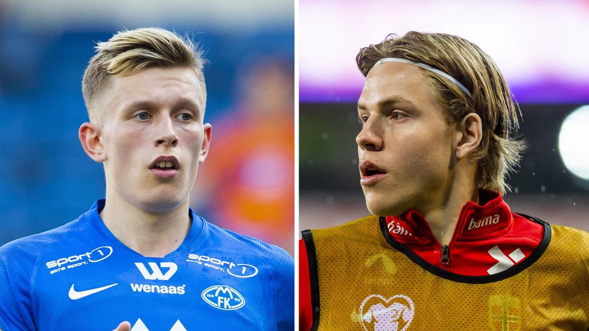 Marcus Holmgren Pedersen og Jens Petter Hauge