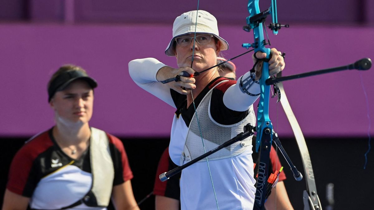 Lisa Unruh hat in Tokio mit der Mannschaft Bronze gewonnen