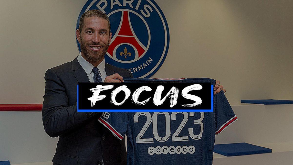 Sergio Ramos, Paris Saint Germain, 2021-22