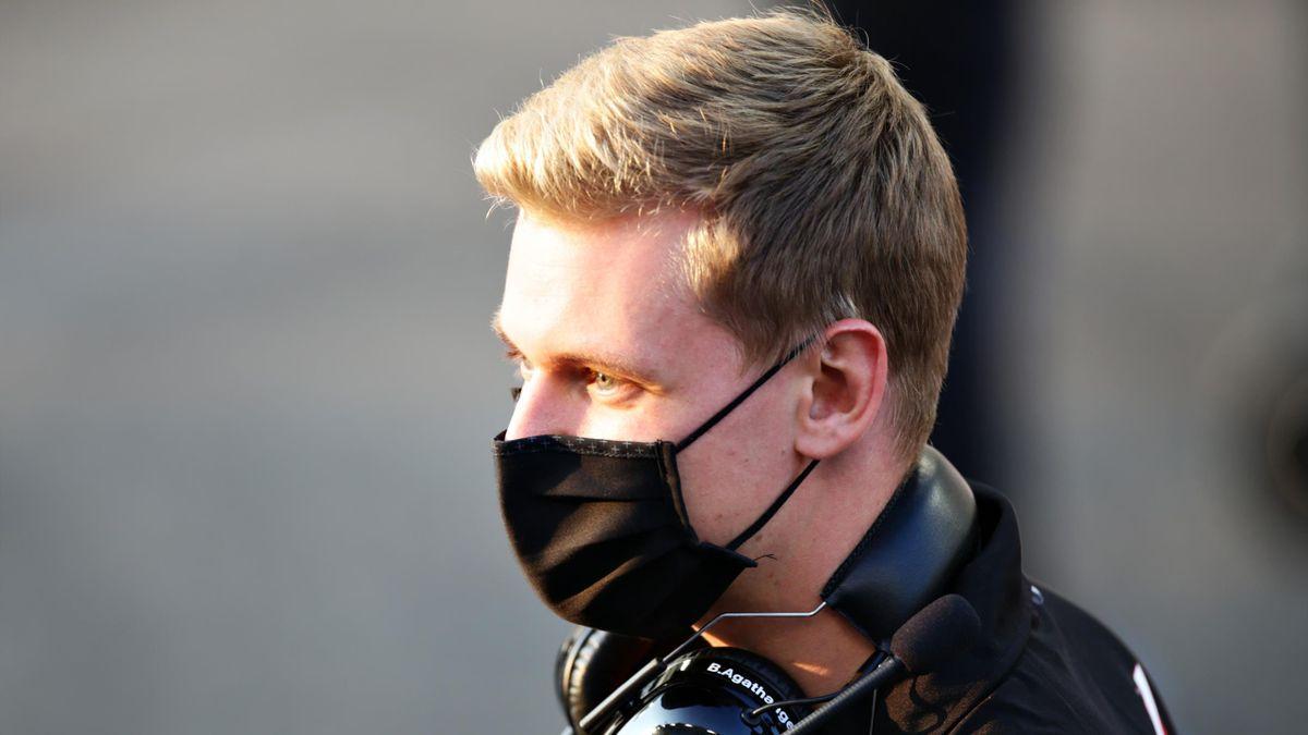 Mick Schumacher beim Young-Driver-Test in Abu Dhabi
