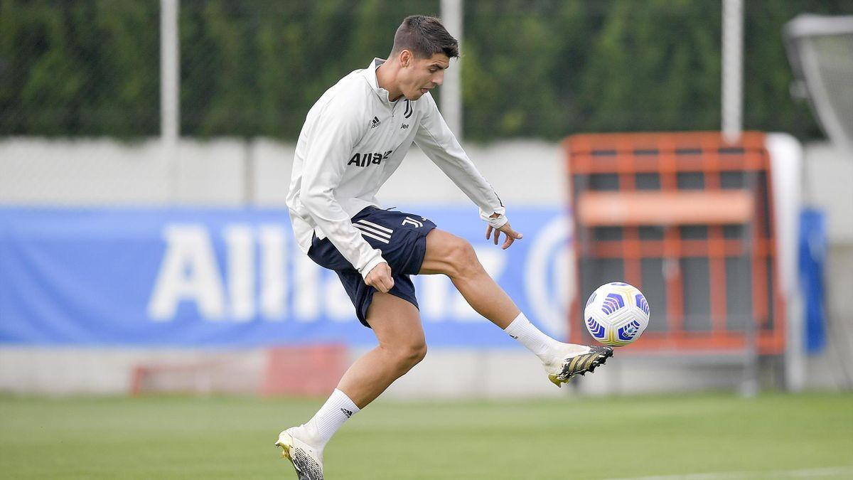 Alvaro Morata, Juventus, Getty Images