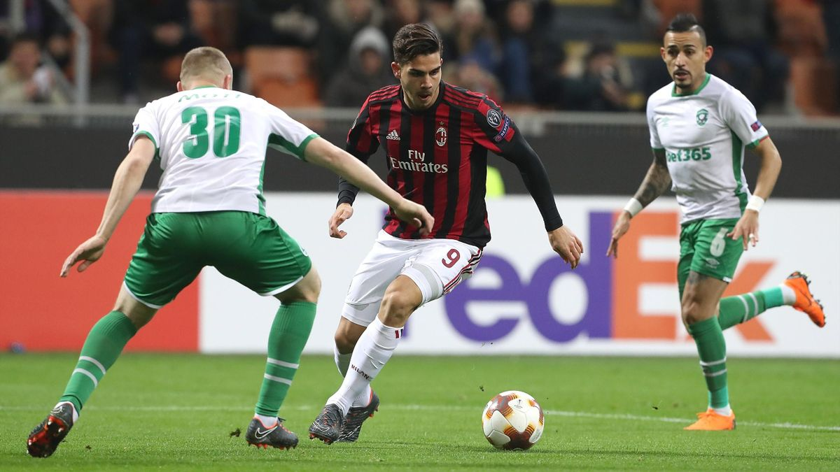 Andre Silva, Milan-Ludogorets, Getty Images