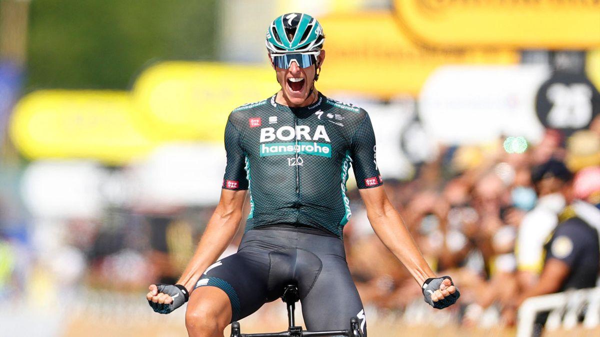 Nils Politt (Bora-Hansgrohe) vainqueur à Nimes de la 12e étape du Tour de France
