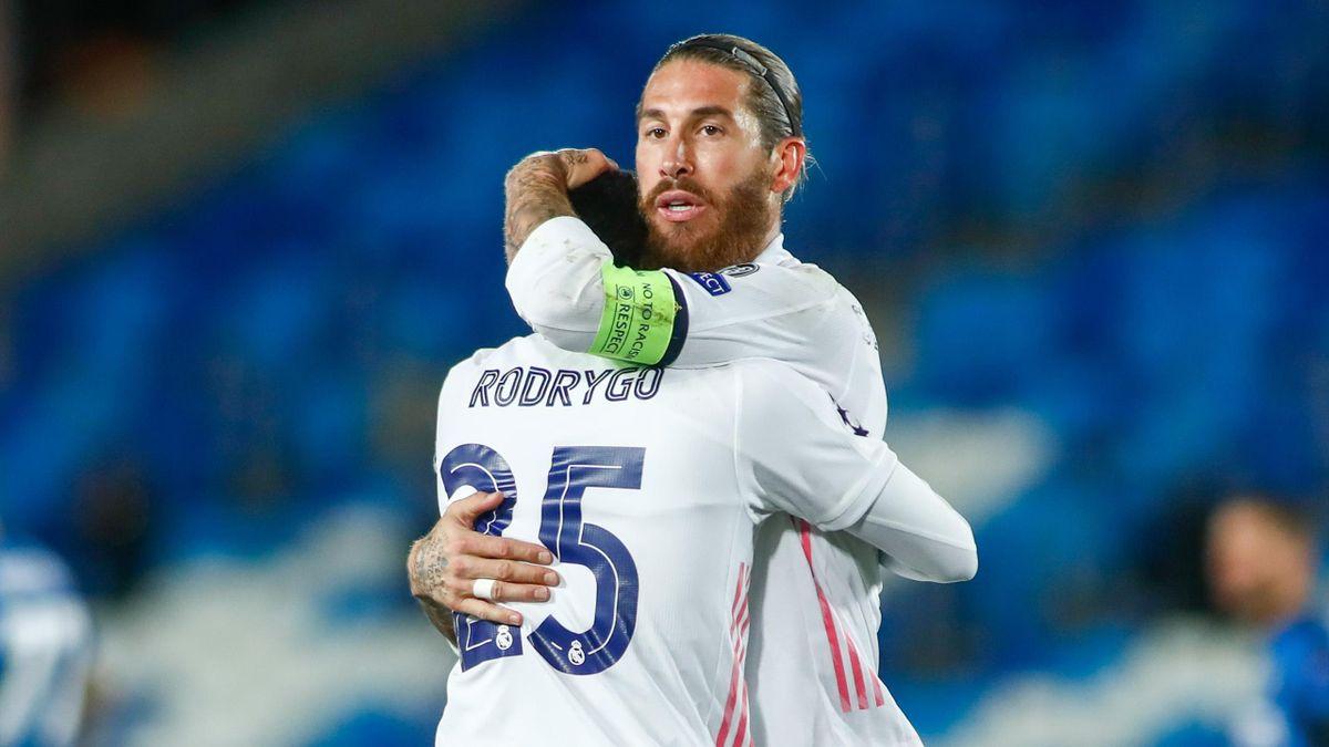 Le soulagement de Sergio Ramos face à l'Inter