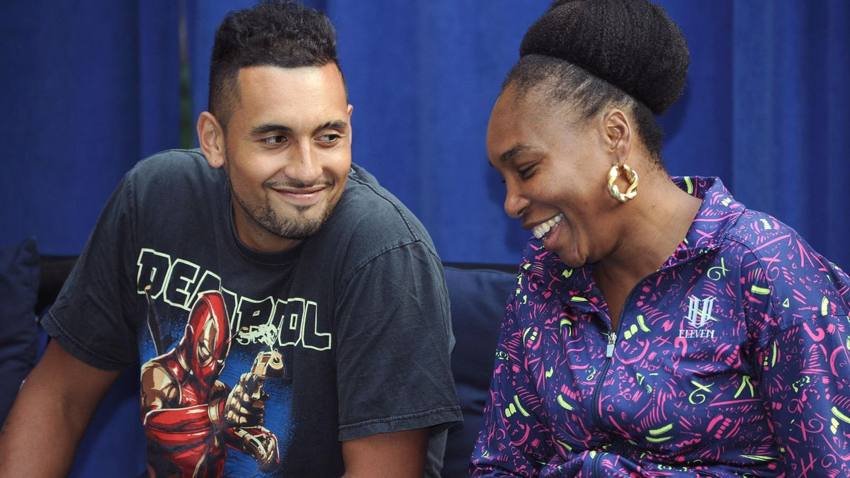 Venus Williams és Nick Kyrgios