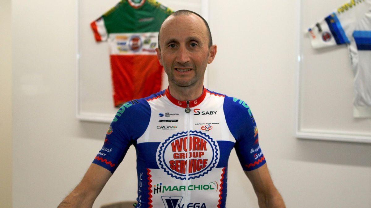 Davide Rebellin sous le maillot de sa nouvelle équipe (Photo Davide Rebellin)