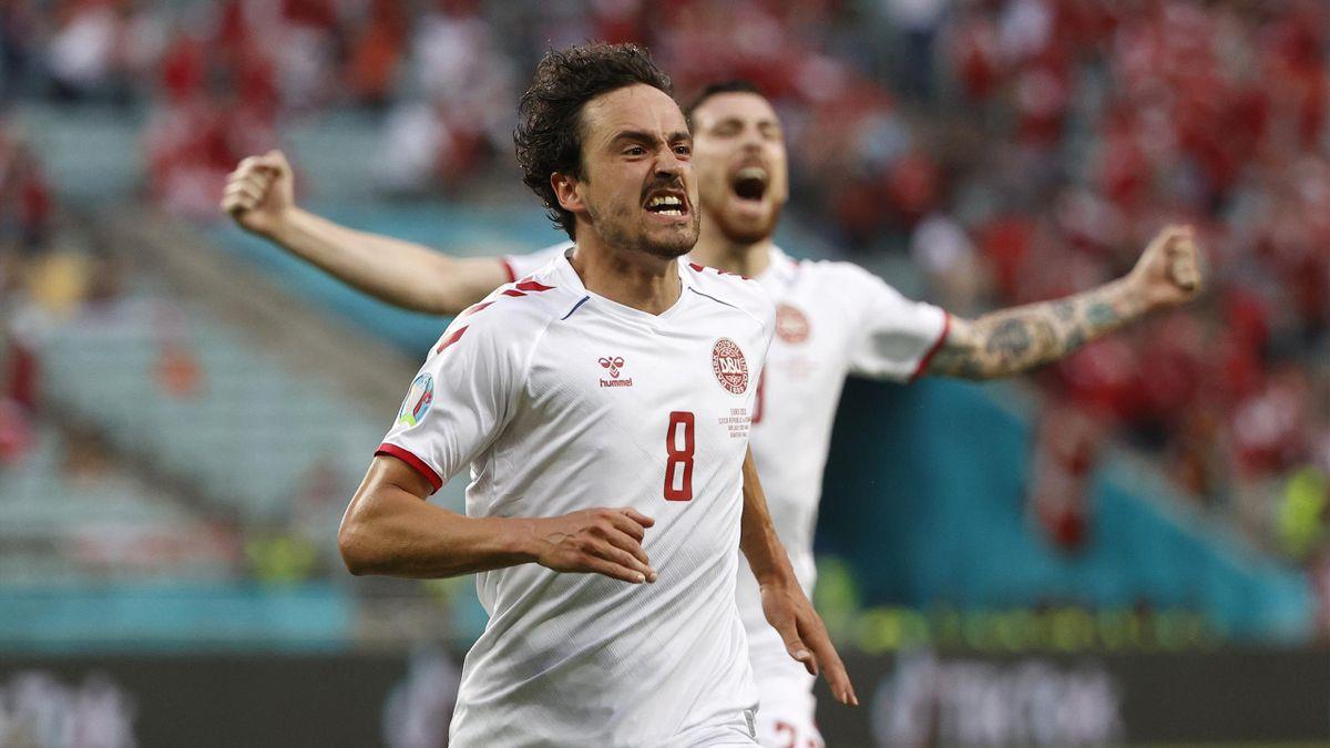 Thomas Delaney brachte Dänemark gegen Tschechien im EM-Viertelfinale auf Siegkurs