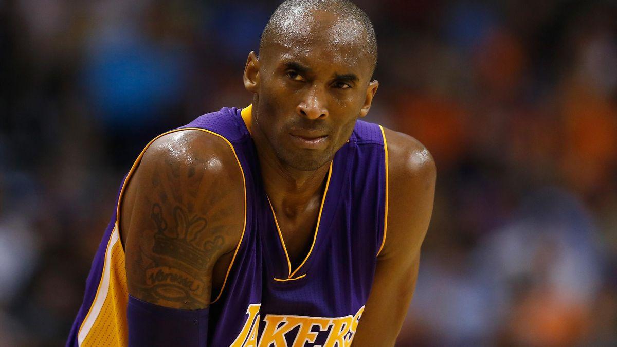 2014-15 NBA, Los Angeles Lakers, Kobe Bryant (getty images)