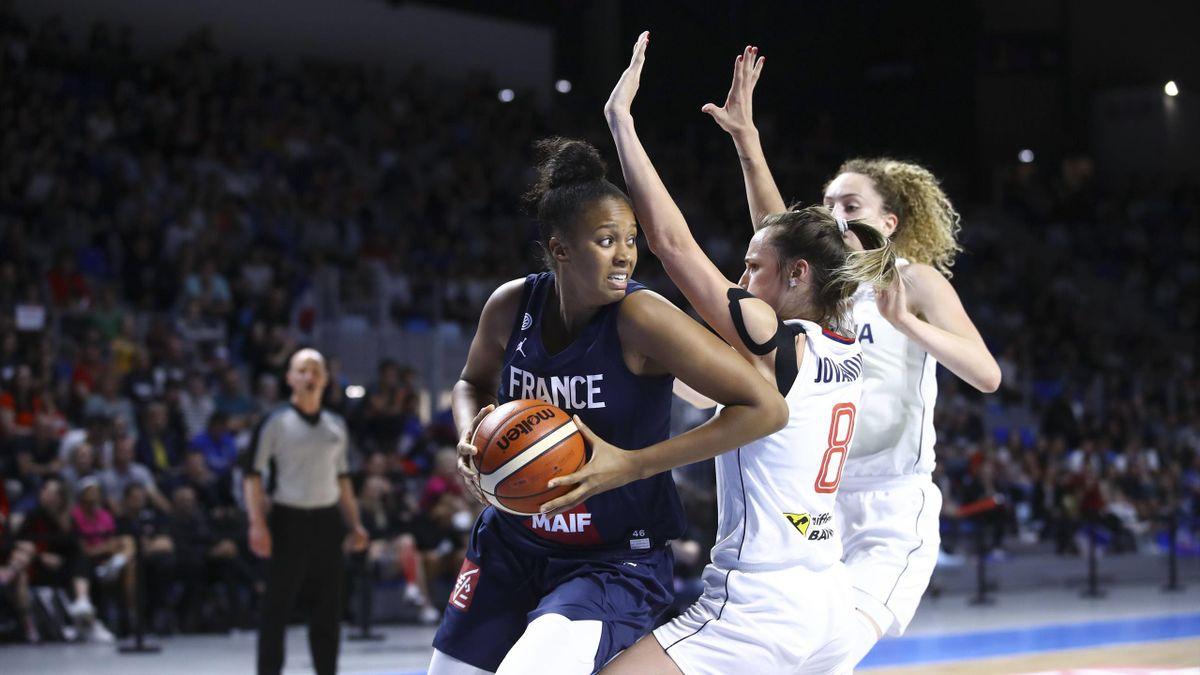 Iliana Rupert (ici avec l'équipe de France en 2019)