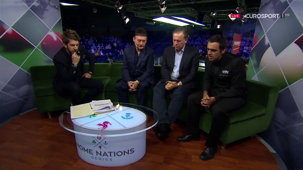 "Snooker : O'Sullivan says ""shit"" on TV (bleeped out)"