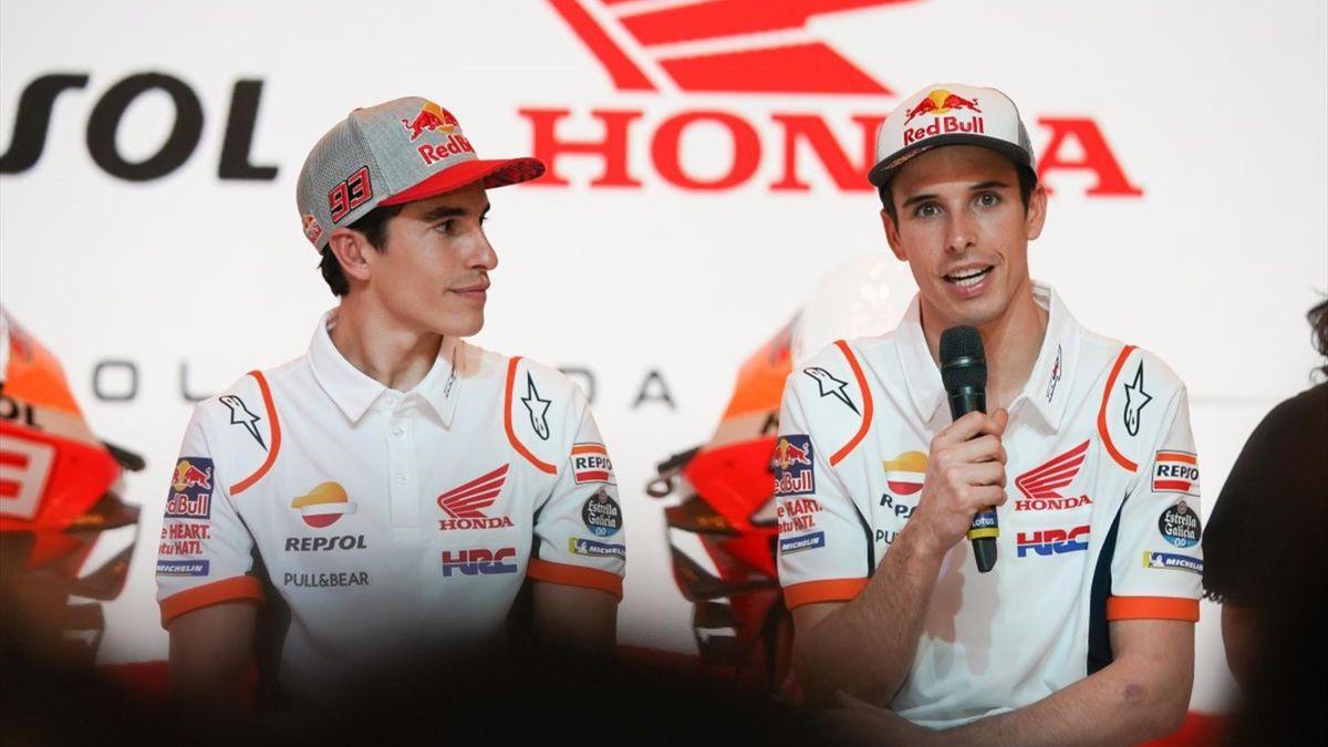Marc and Alex Marquez - Repsol Honda Team launch 2020 challenge in Indonesia