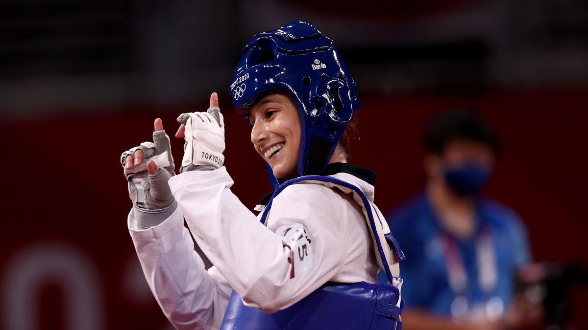 Adriana Cerezo sonrie Juegos Olímpicos Tokio 2020