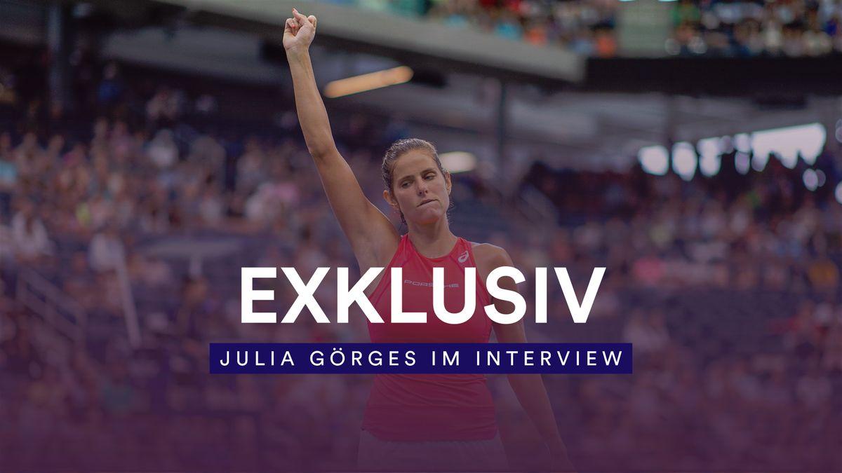 Julia Görges bei den US Open