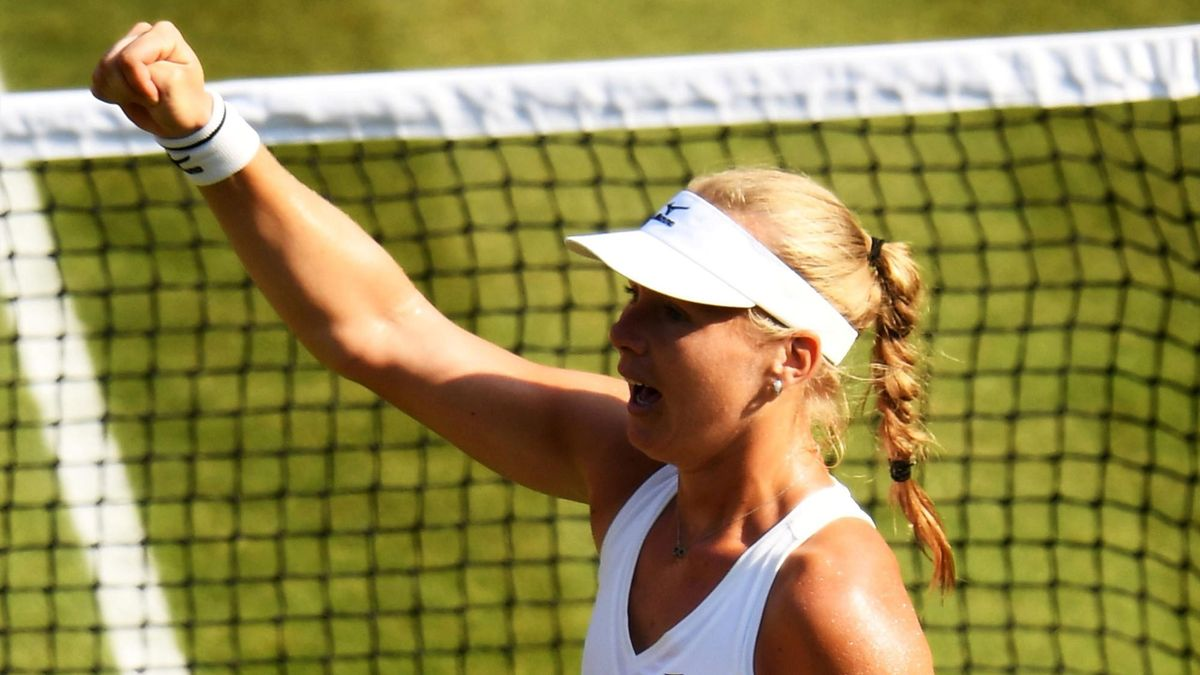 Kiki Bertens zegeviert tegen Venus Williams op Wimbledon