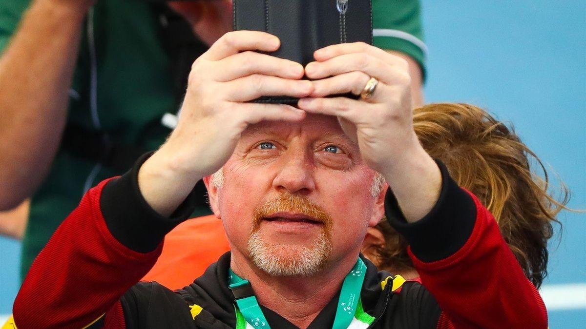 De Duitse tennislegende heeft de aanval geopend op de Australiër