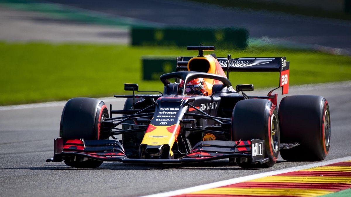 Max Verstappen (Red Bull) au Grand Prix de Belgique 2019